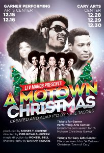 A Motown Christmas Stage Production Flyer