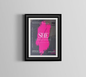 She Evolved Conference Poster